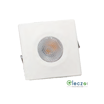 Crompton Star LED Spot Light 2 W, Red, Square