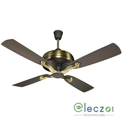 "Crompton Titanis Super Premium Ceiling Fan 1200 mm (48""), Roast Brown, 4 Blade"