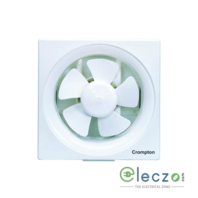 Crompton Ventilus Domestic Exhaust Plastic Ventillation Fan 150 mm (6''), White