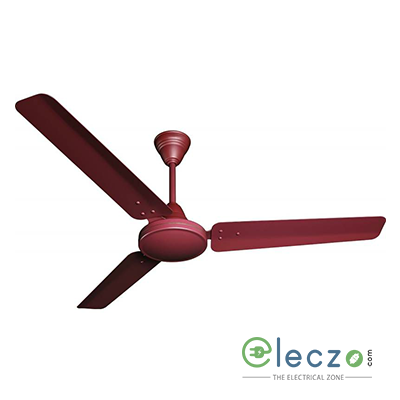 "Crompton Zapar High Speed Standard - Plain Ceiling Fan 900 mm (36""), Brown, 3 Blade"