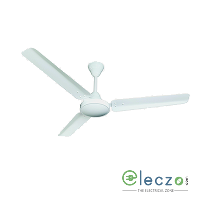 "Crompton Zapar High Speed Standard - Plain Ceiling Fan 900 mm (36""), Opal White, 3 Blade"