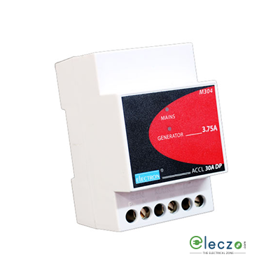 Electron ACCL Without Current Limiter For Portable Gensets, EB : SP, 30, DG : SP, 1 kW, 5 A, 1 Pole