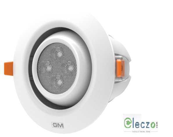 GM Modular G-LUX G1 LED Down Light 4.5 W, Warm White, Concealed Mounted, Round