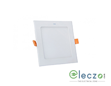 GM Modular Plano LED Slim Panel Light 3 W, Warm White, Concealed Mounted, Square