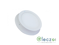 GM Modular Plano LED Surface Panel Light 5 W, Neutral White, Surface Mounted, Round