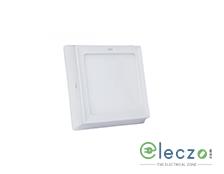 GM Modular Plano LED Surface Panel Light 5 W, Warm White, Surface Mounted, Round