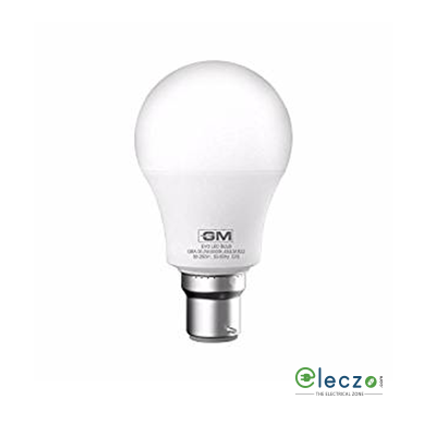 GM Modular Evo LED Bulb, 7 W, Cool White, B22 Base