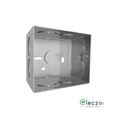 GM Modular Flush Metal Box (Galvanized) 1 & 2 Module, Suitable For FourFive And G-Nine