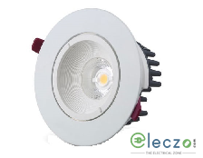 GM Modular G-LUX Q8X LED Down Light 8 W, White, Concealed Mounted, Round
