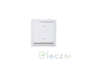 Great White Fiana Dura Switch 20 A, White, 2 Module, 2 Way