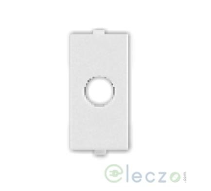 Great White Myrah Cord Outlet White, 1 Module