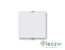 Great White Myrah Mega Switch 10 A, White, 2 Module, 1 Way