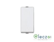 Great White Myrah Slim Switch 10 A, White, 1 Module, 1 Way