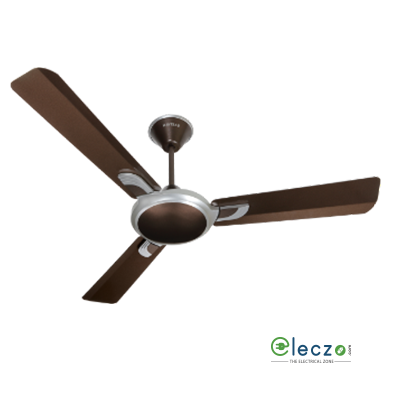 """Havells Areole Decorative Ceiling Fan 1200 mm (48""""), Pearl Brown-Silver, 3 Blade"""