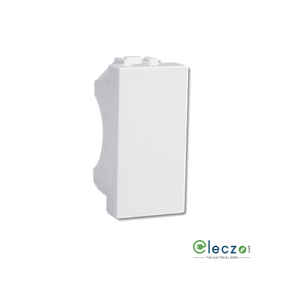 Havells Coral 1 Module White Blank Plate