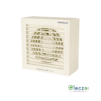 "Havells Ventilair DX-WE Domestic Exhaust Plastic Ventillation Fan 150 mm (6""), White"