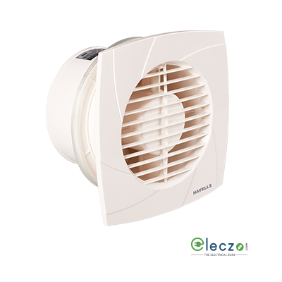 "Havells Ventilair DXW Neo Domestic Exhaust Plastic Ventillation Fan 150 mm (6""), White"