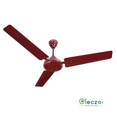 """Havells ES 50 Energy Saver Range Of 5 Star Ceiling Fan 1200 mm (48""""), Brown, 3 Blade"""