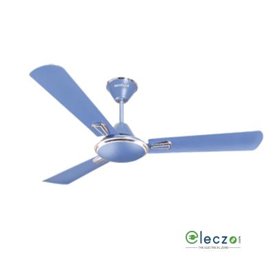 "Havells Festiva Decorative Ceiling Fan 1200 mm (48""), Ocean Blue-Silver, 3 Blade"