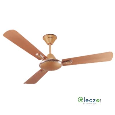 "Havells Festiva Decorative Ceiling Fan 1200 mm (48""), Pearl Copper-Gold, 3 Blade"