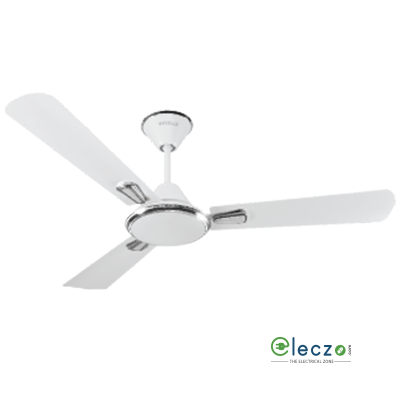 """Havells Festiva Decorative Ceiling Fan 1200 mm (48""""), Pearl White Silver, 3 Blade"""