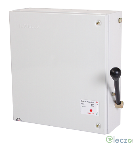 Havells Onload Changeover Switch 32 A, SS Enclosure, 3 Pole, 415 V AC