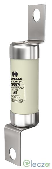 Havells HiBreak HBC Fuse Link 10 A, 415 V AC, BS Type-TIA, 80 kA, Offset Tag, Size A2