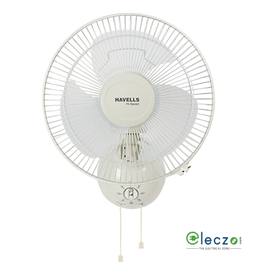 Havells D'zire High Speed Wall Fan 300 mm (12''), Off White