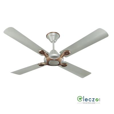 "Havells Leganza Decorative Ceiling Fan 1200 mm (48""), Bronze-Gold, 4 Blade"