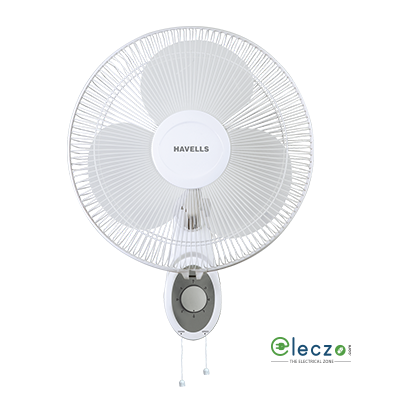 Havells Platina Wall Fan 400 mm (16''), White