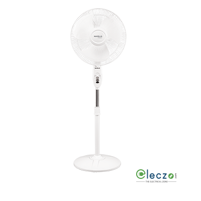 "Havells Sprint High Speed Pedestal Fan 400 mm (16""), White"