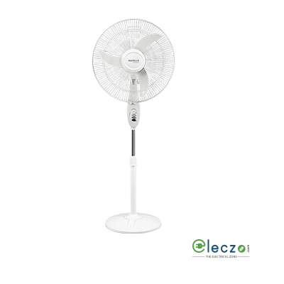 "Havells Sprint High Speed Pedestal Fan 450 mm (18""), White"