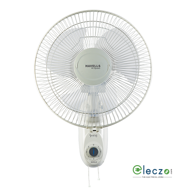 Havells Swing High Speed Wall Fan 300 mm (12''), Off White