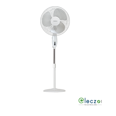 "Havells Swing Pedestal Fan 400 mm (16""), White"