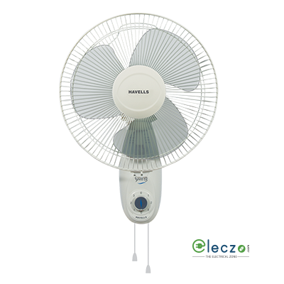 Havells Swing Wall Fan 300 mm (12''), Off White