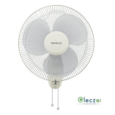 Havells Swing Wall Fan 400 mm (16''), Off White