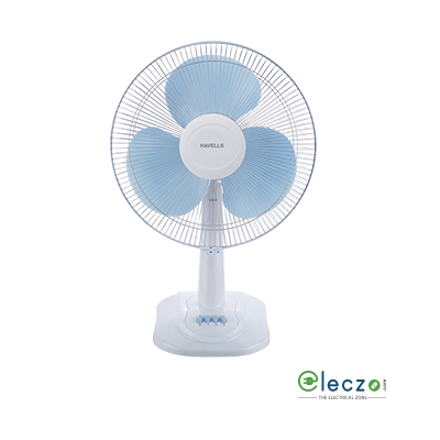 Havells Swing ZX Table Fan 400 mm (16''), White