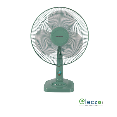 Havells Velocity Neo Table Fan 400 mm (16''), Green