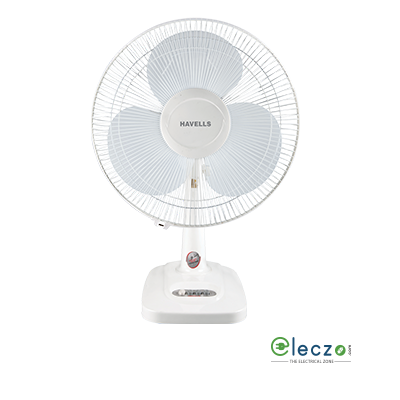 Havells Velocity Neo Table Fan 400 mm (16''), White