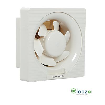 "Havells Ventilair DX Domestic Exhaust Plastic Ventillation Fan 150 mm (6""), White"