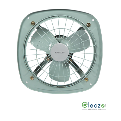 "Havells Ventilair DS Domestic Exhaust Metal Ventillation Fan 300 mm (12""), Grey"