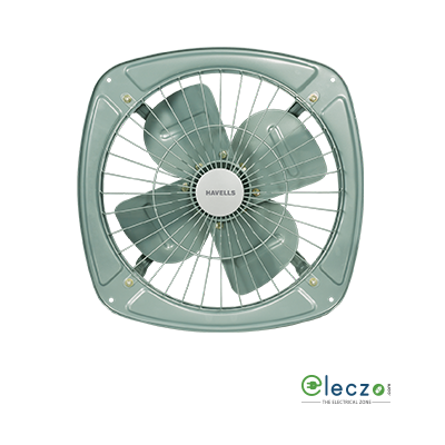 "Havells Ventilair DB Domestic Exhaust Metal Ventillation Fan 230 mm (9.2""), Grey"