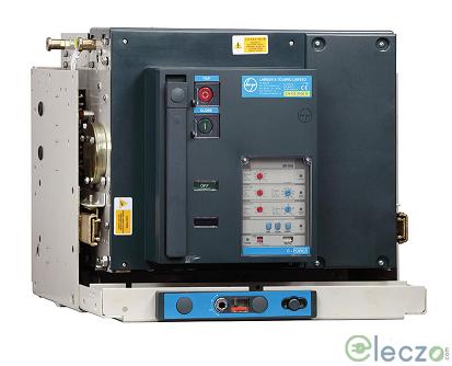 L&T Switchgear C-POWER S1 ACB 800 A, 3 Pole, 50 kA, Manual Fixed, O/L, S/C & E/F, Thermal Magnetic DN1