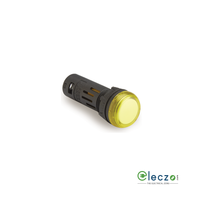 L&T Gen Next Indicating Lamp Yellow, 48 V AC/DC, 16 mm, Surface Mounted, LED