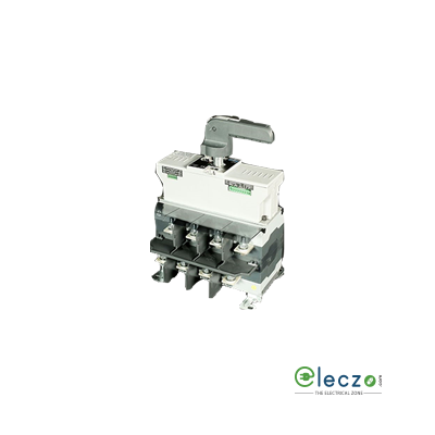 L&T On Load Motorised Changeover Switch Disconnector 125 A, Open Execution, 4 Pole, 415 V AC