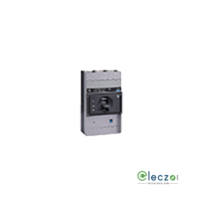 L&T Switchgear d sine DN0-100C MCCB 40 A, 3 Pole, 25 kA, Adjustable O/L & Adjustable S/C Settings, Thermal Magnetic Trip Unit