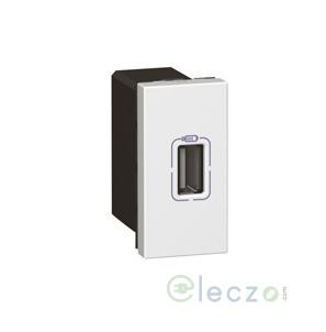 Legrand Arteor Single USB Charger Audio Video Socket (Square) White