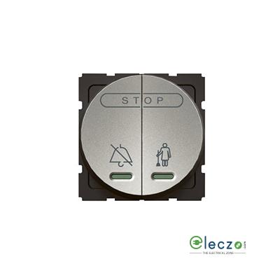 Legrand Arteor Magnesium Round DND & MMR Internal Control Unit, 2 Module