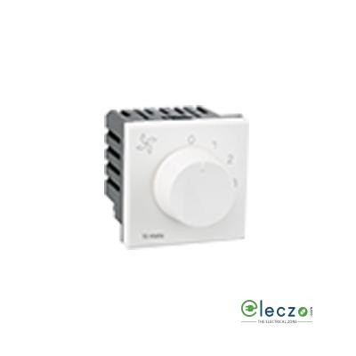 Legrand Arteor Fan Regulator (Square) 2 Module, White, 5 Step