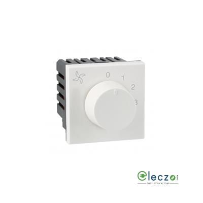 Legrand Arteor Fan Regulator (Square) 120 W, 2 Module, White, 5 Step